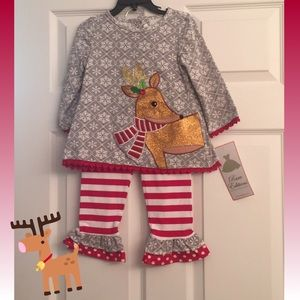 Rare Editions Dress Outfit 3T